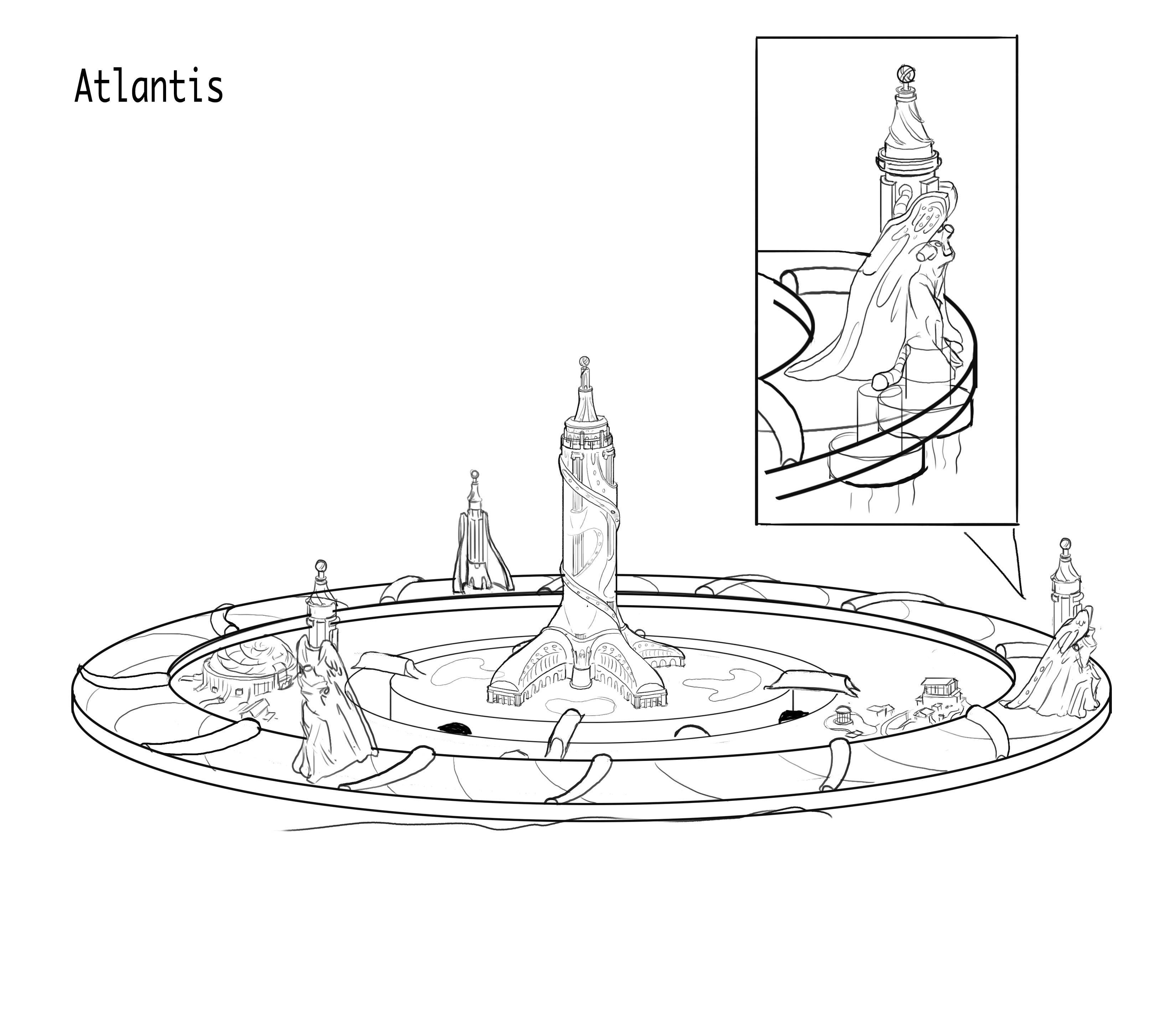 a first design of Atlantis