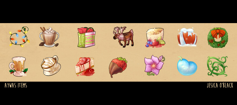 Game Item & Icon Sets