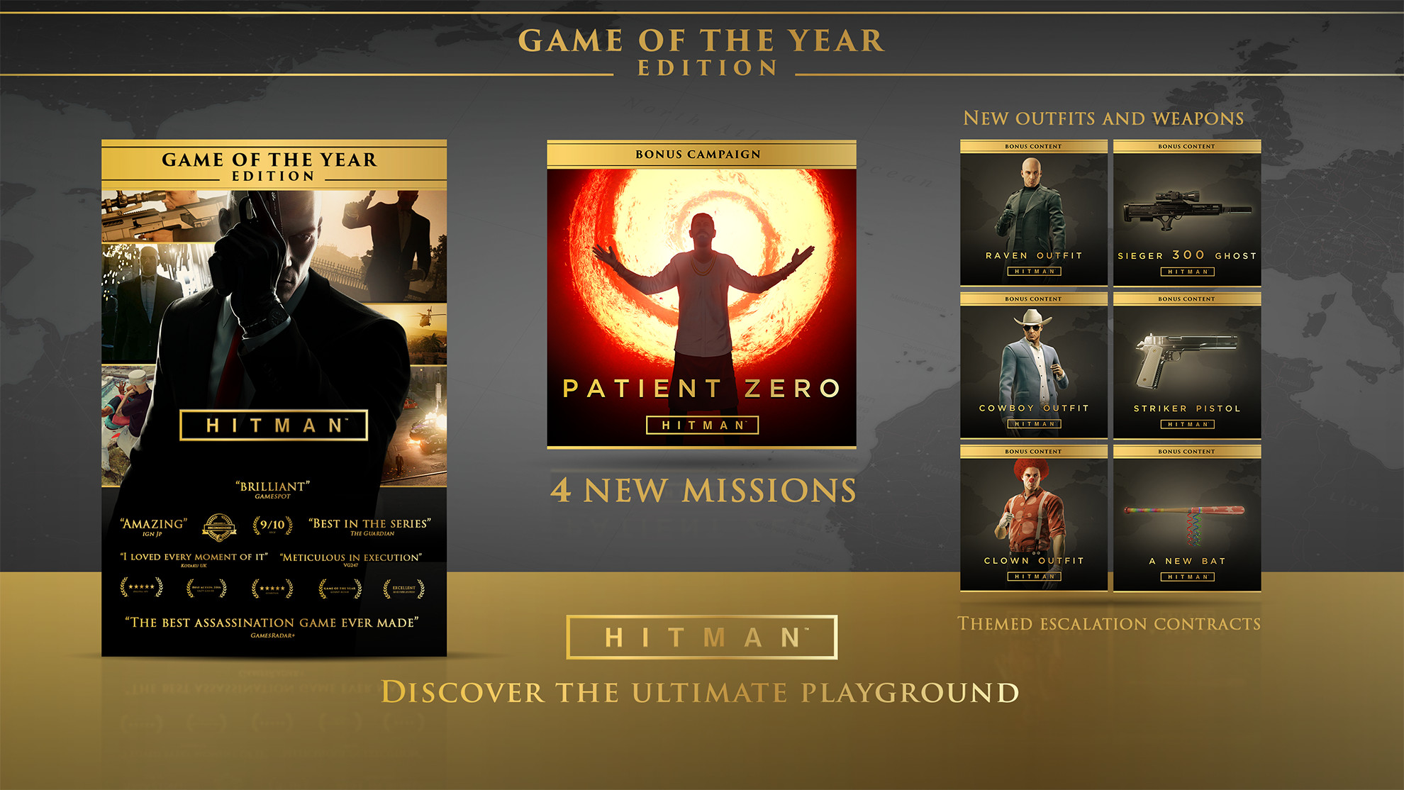 Visual identity for Game of the year edition.