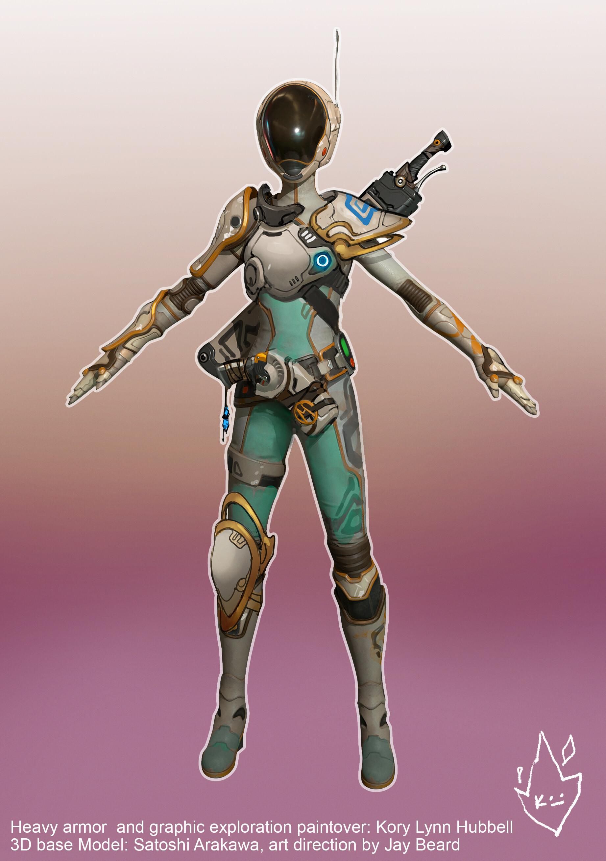 Kory lynn hubbell sculpin armor exploration 1