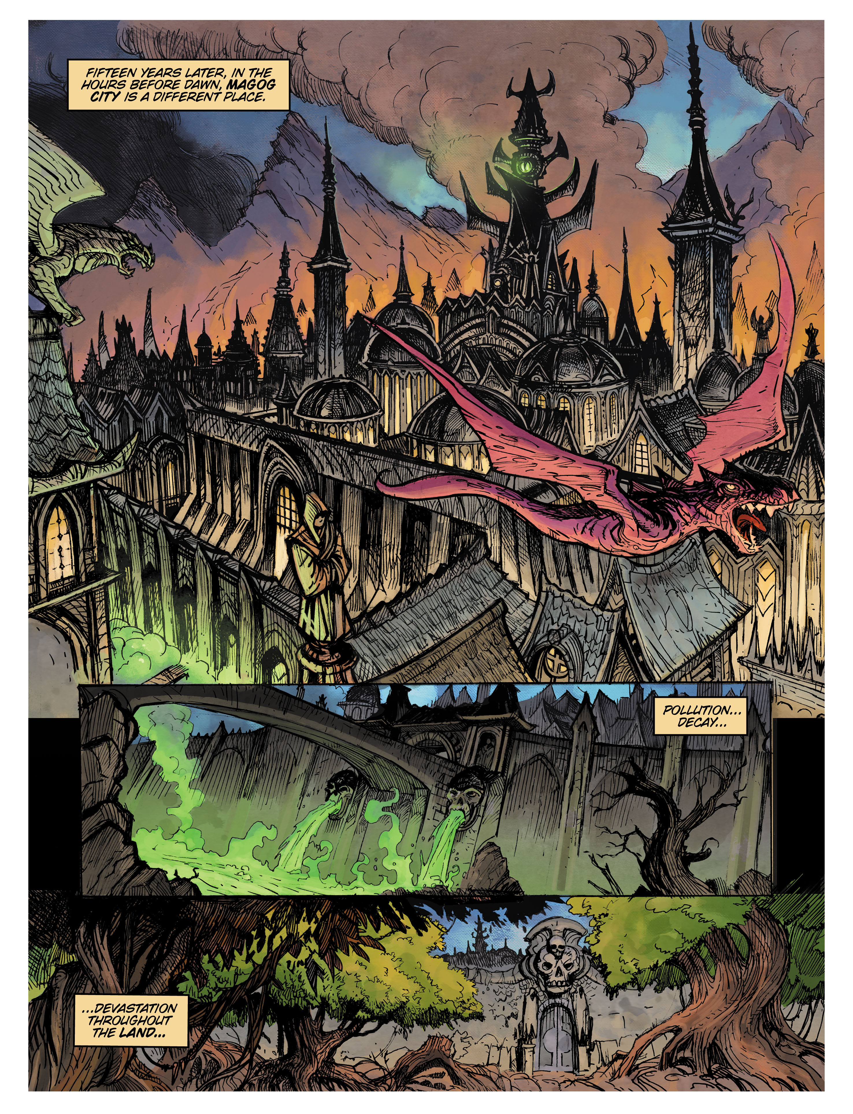 Landing somewhere between The Lord of the Rings and the Dark Crystal, Monsterwood is a coming of age story that combines a fairy tale aesthetic with appropriately dark edge....,