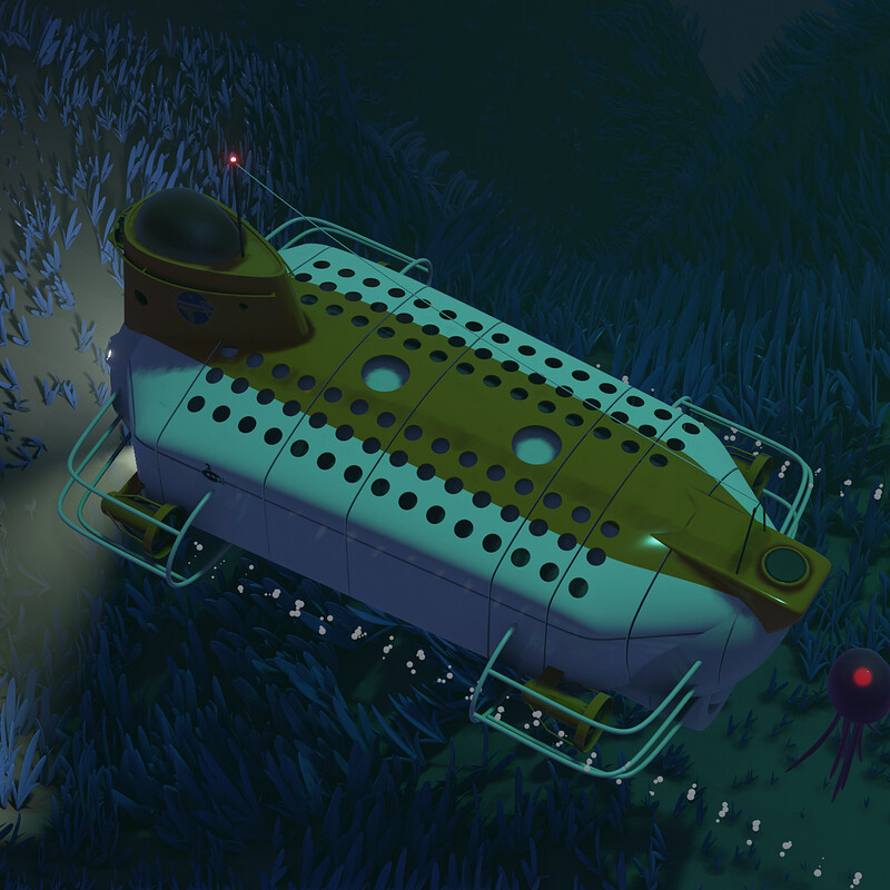 Deep Sea Submarine