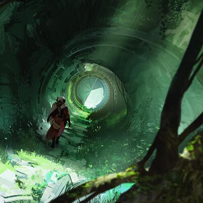 John thacker tunnel ruin web