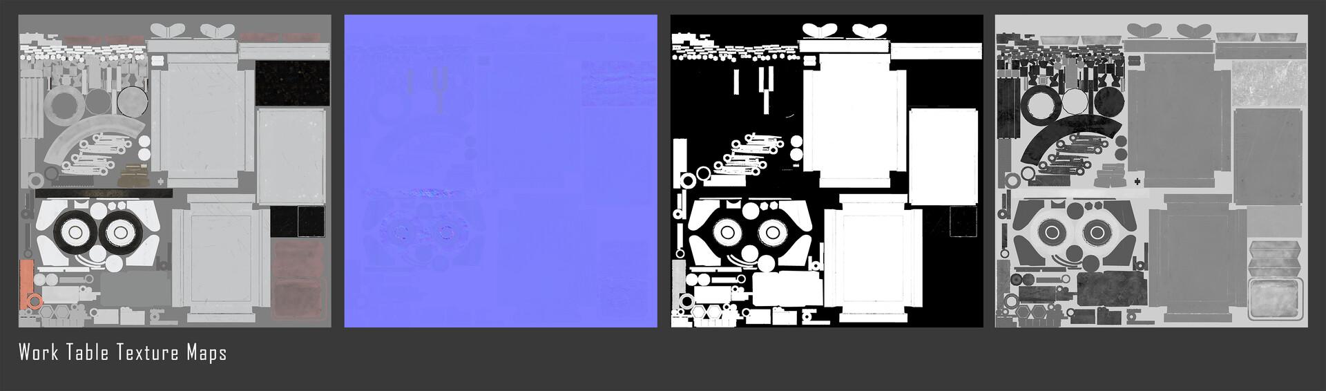 Sherif habashi worktable texturemaps