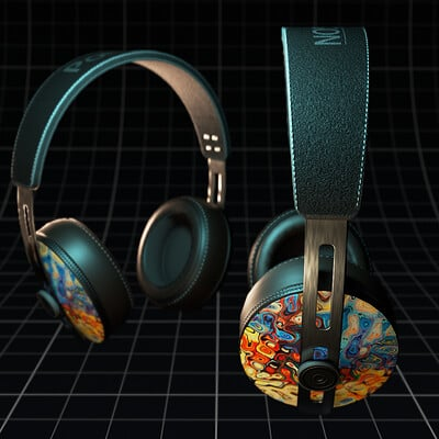 Robin kohler headphones colorful