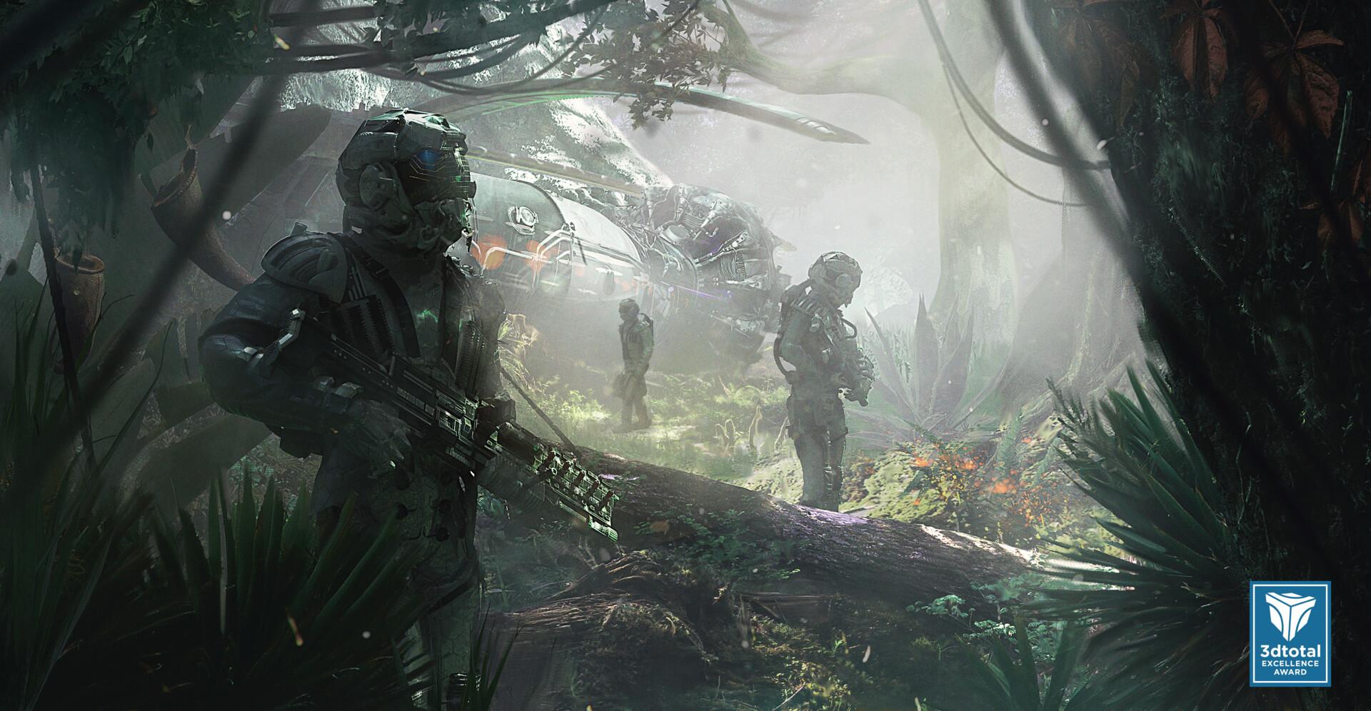 Helen ilnytska way through the jungle