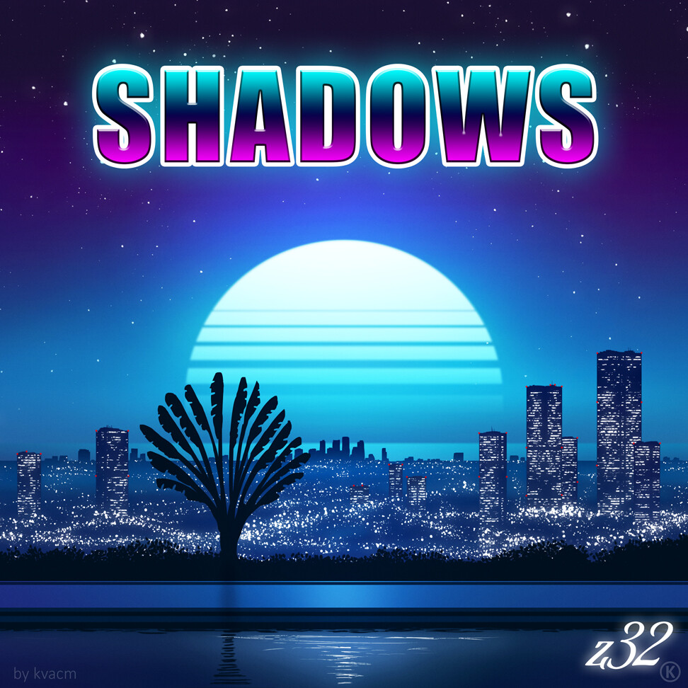 Commission z32 Shadows Album Cover