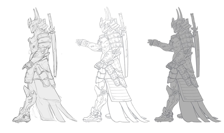 Christian villacis future soldier sketches