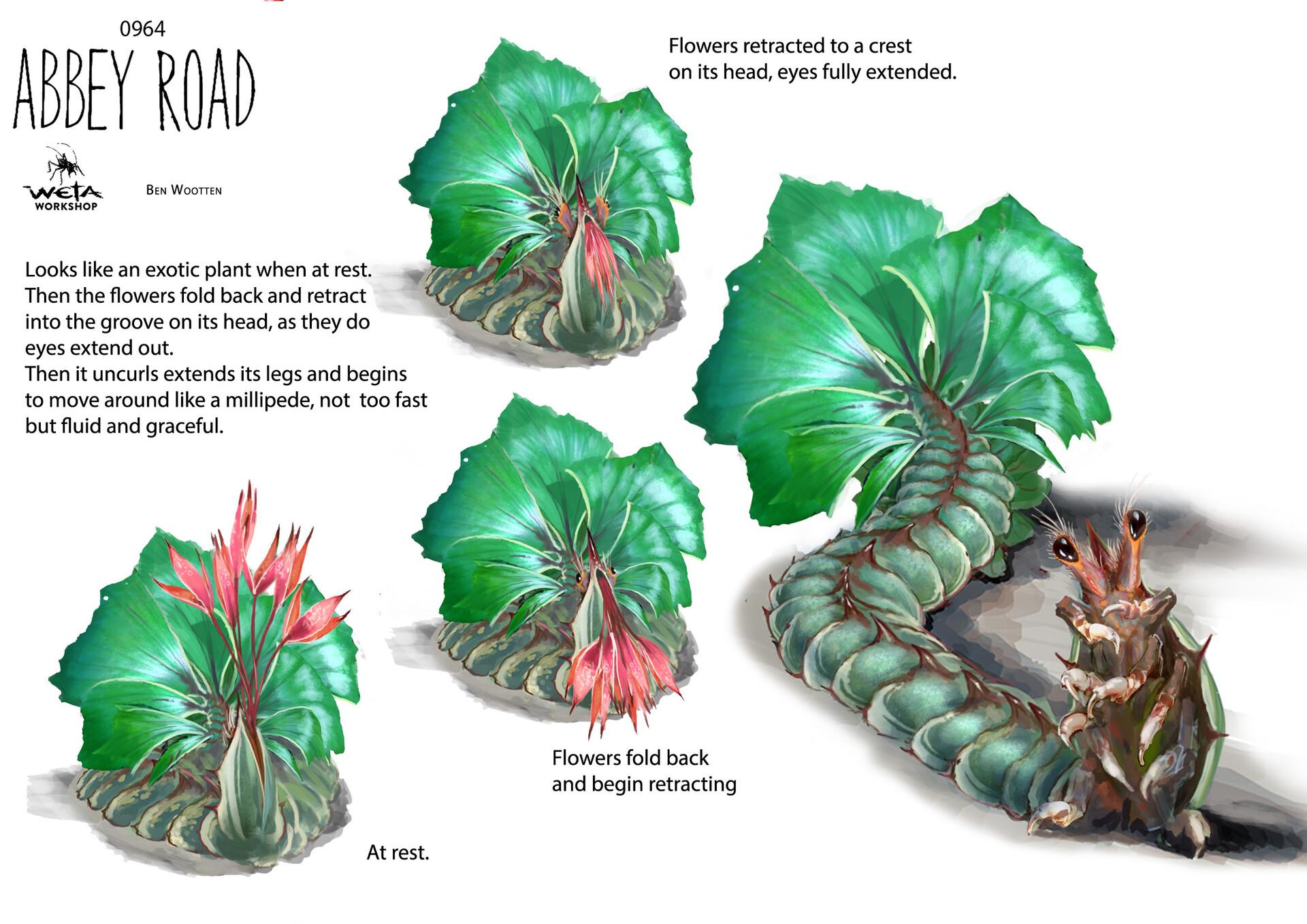 Sniffer Plant - Artist: Ben Wootten