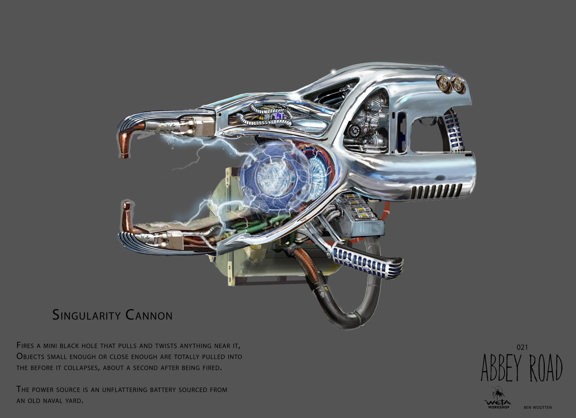 Singularity Cannon - Artist: Ben Wootten