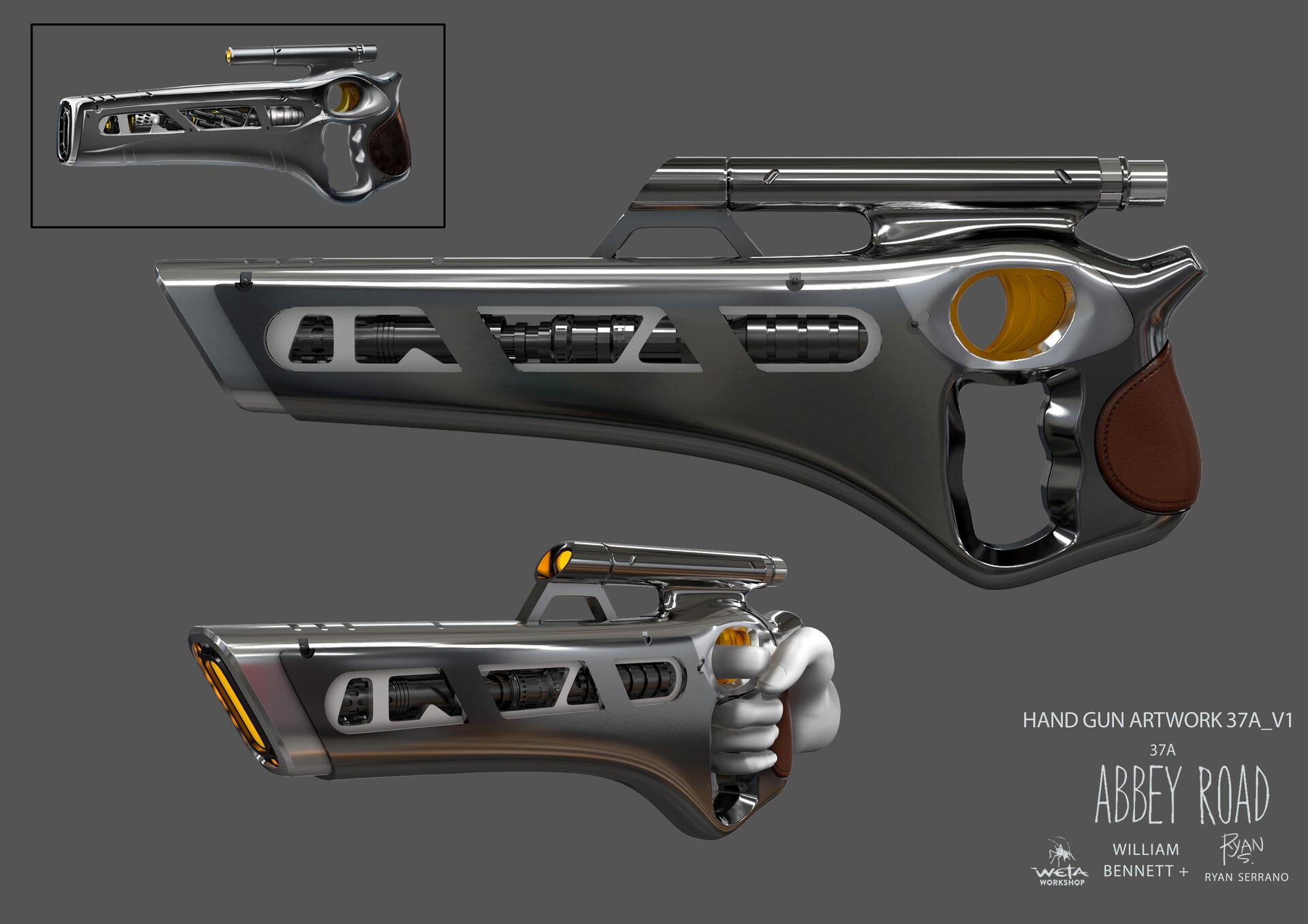 Handgun - Artists: William Bennett + Ryan Serrano