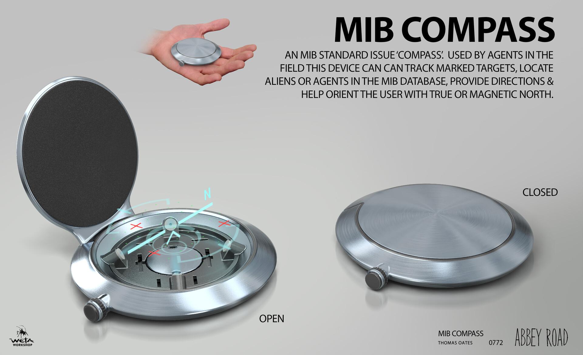 MIB Compass - Artist: Thomas Oates