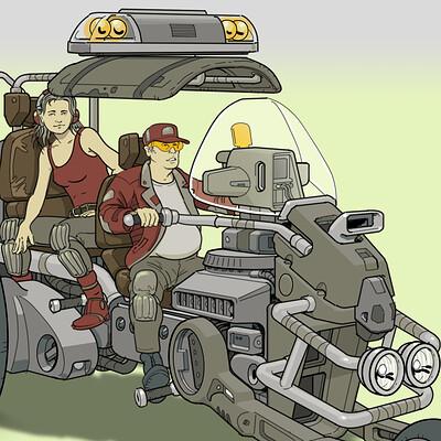 Paul adams trike vehicle 004