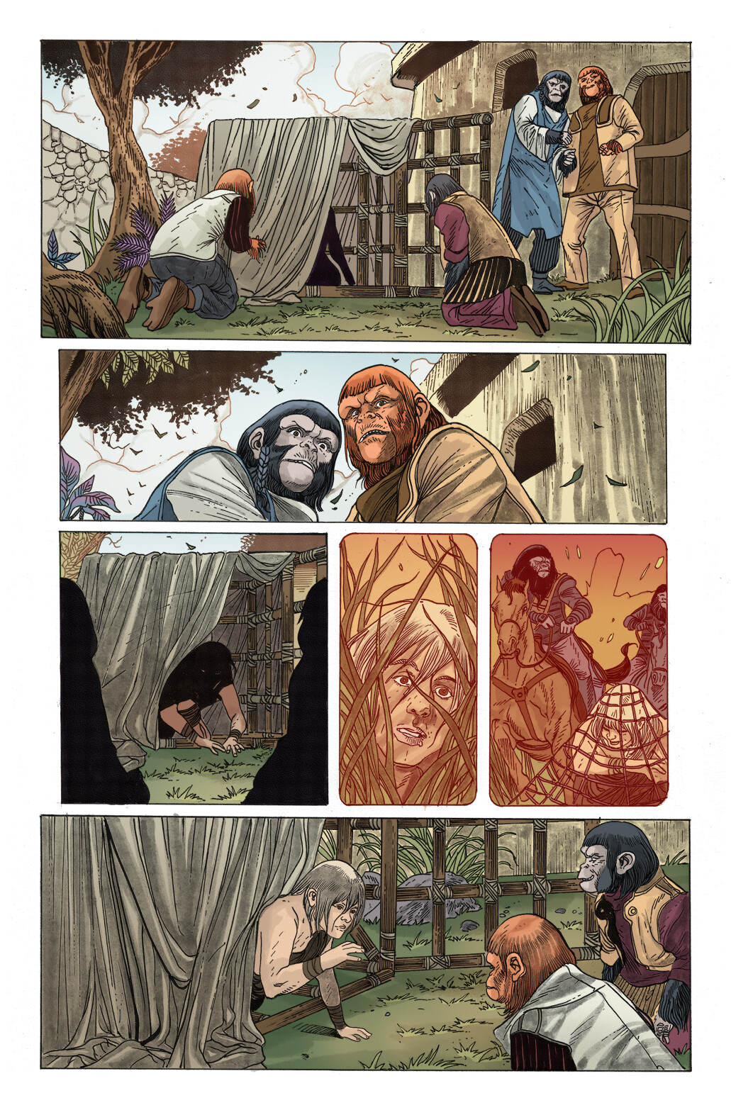 Planet of the Apes: Man's Best Friend, Page 2