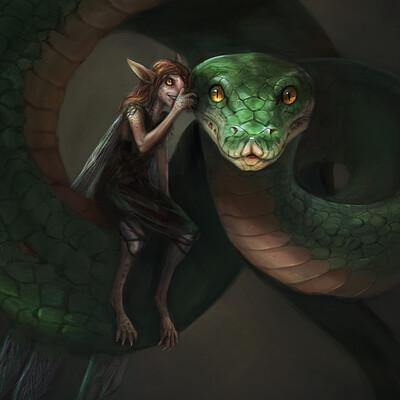 Lisa steinberg snake