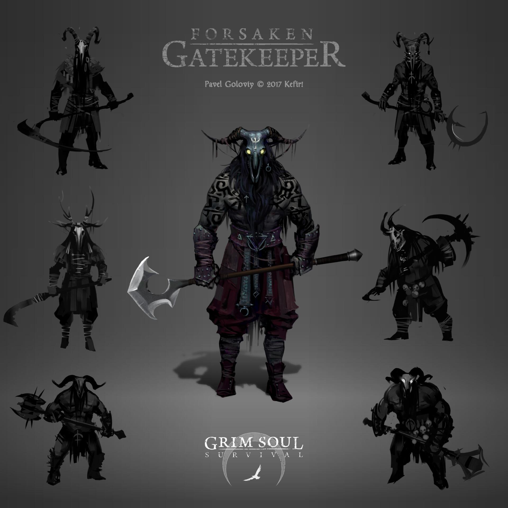 Forsaken Gatekeeper concept
