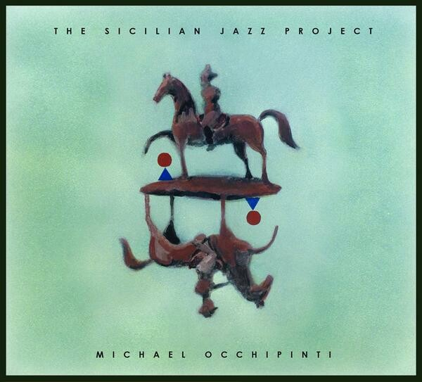 My painting was the cover of the award winning music of Michael Occhipinti.
