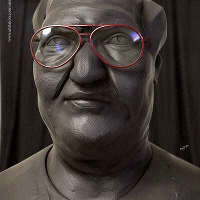 Surajit sen sir digital sculpture surajitsen aug2019