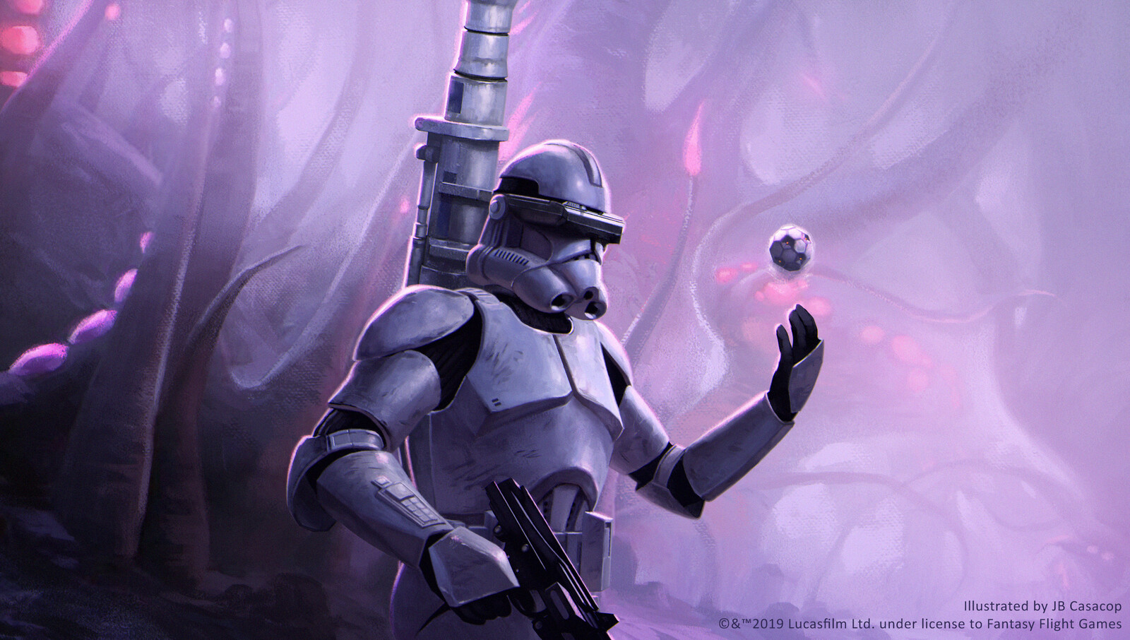 Phase II Clone Trooper With Mortar