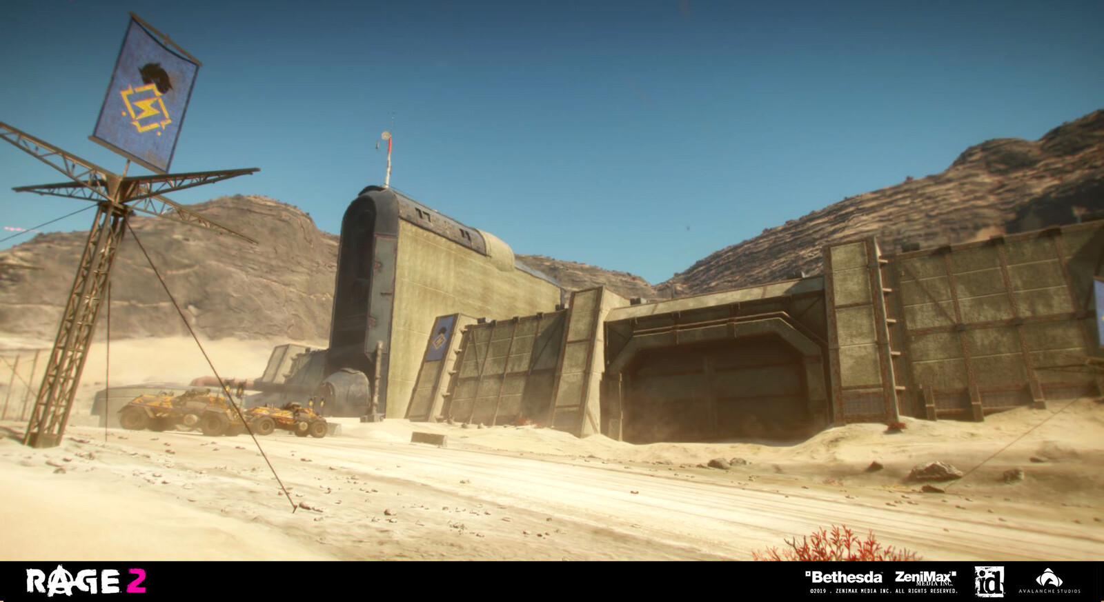 Immortal Shrouded Ark Outpost