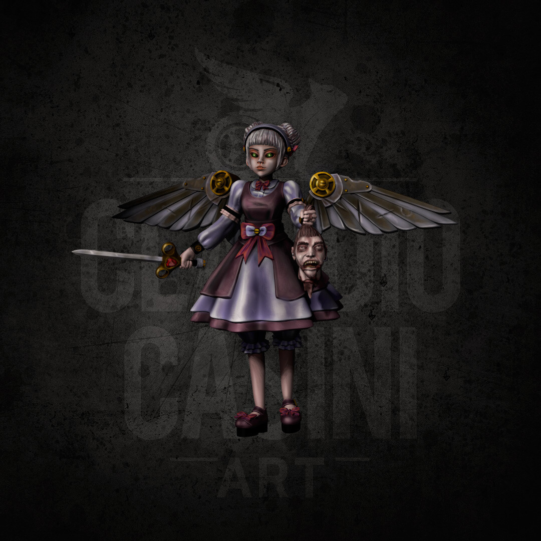 Angel Doll 3D color