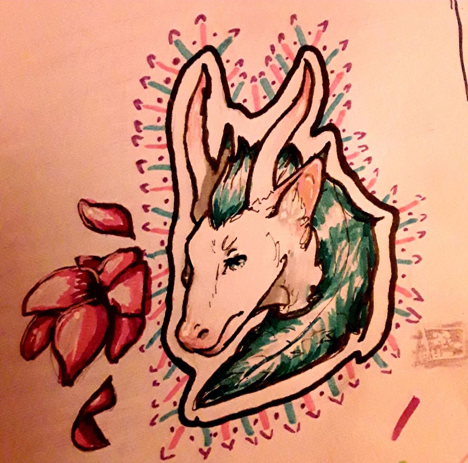 Artstation A Chinese Dragon Haku From Spirited Away Gabriella Higuera
