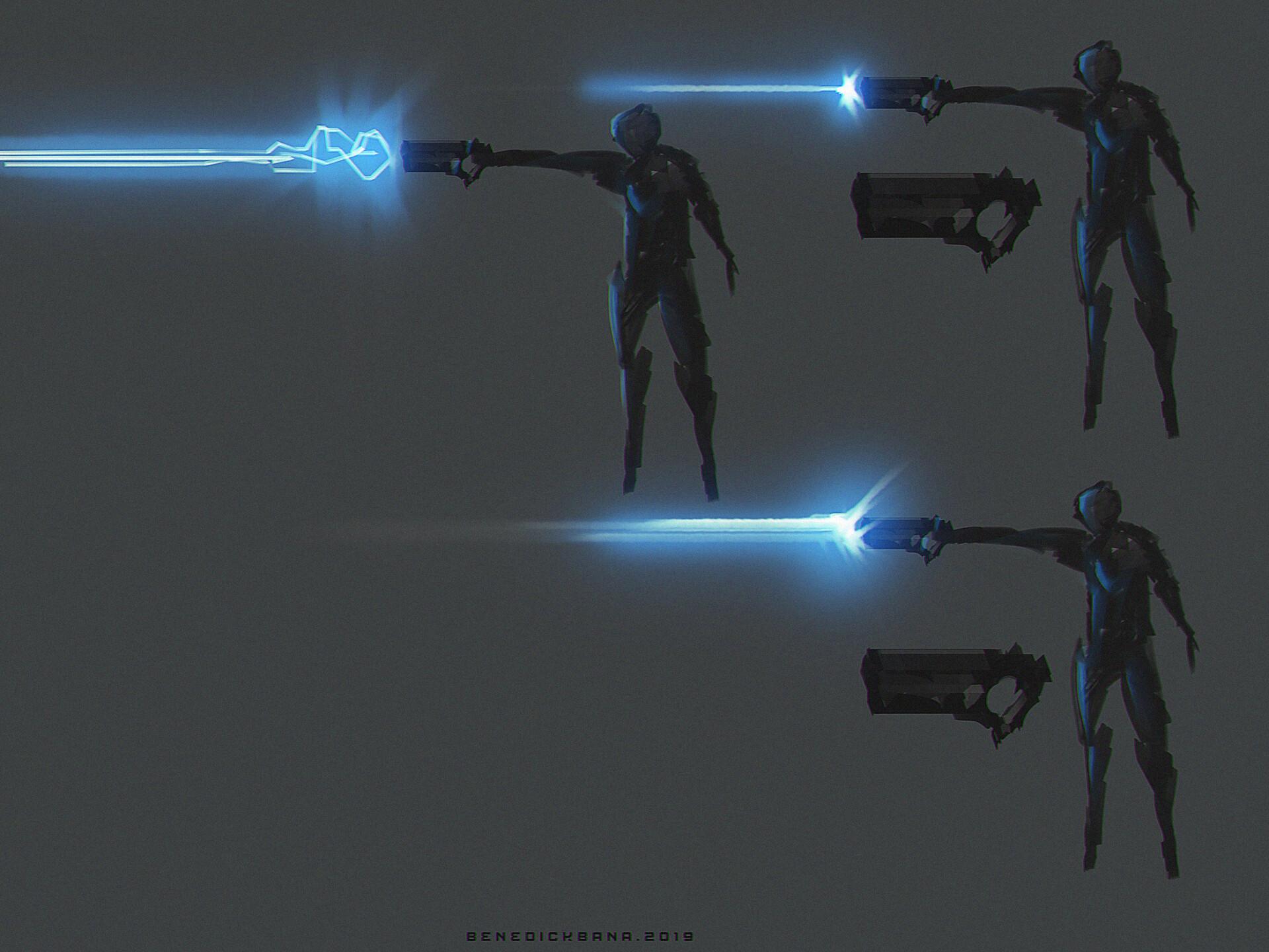 Gun Set A - FX Blast
