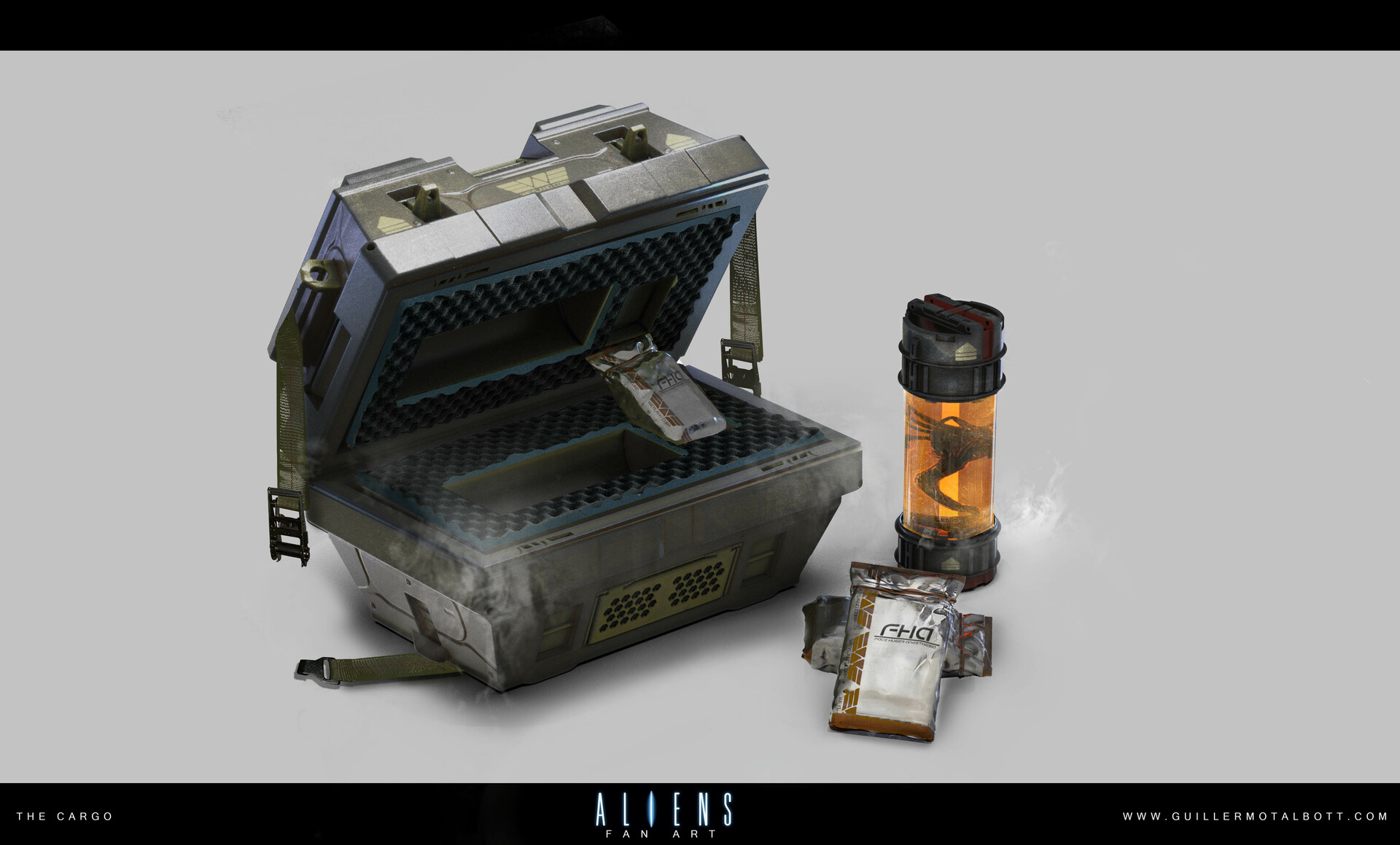 Guillermo talbott alien crate a