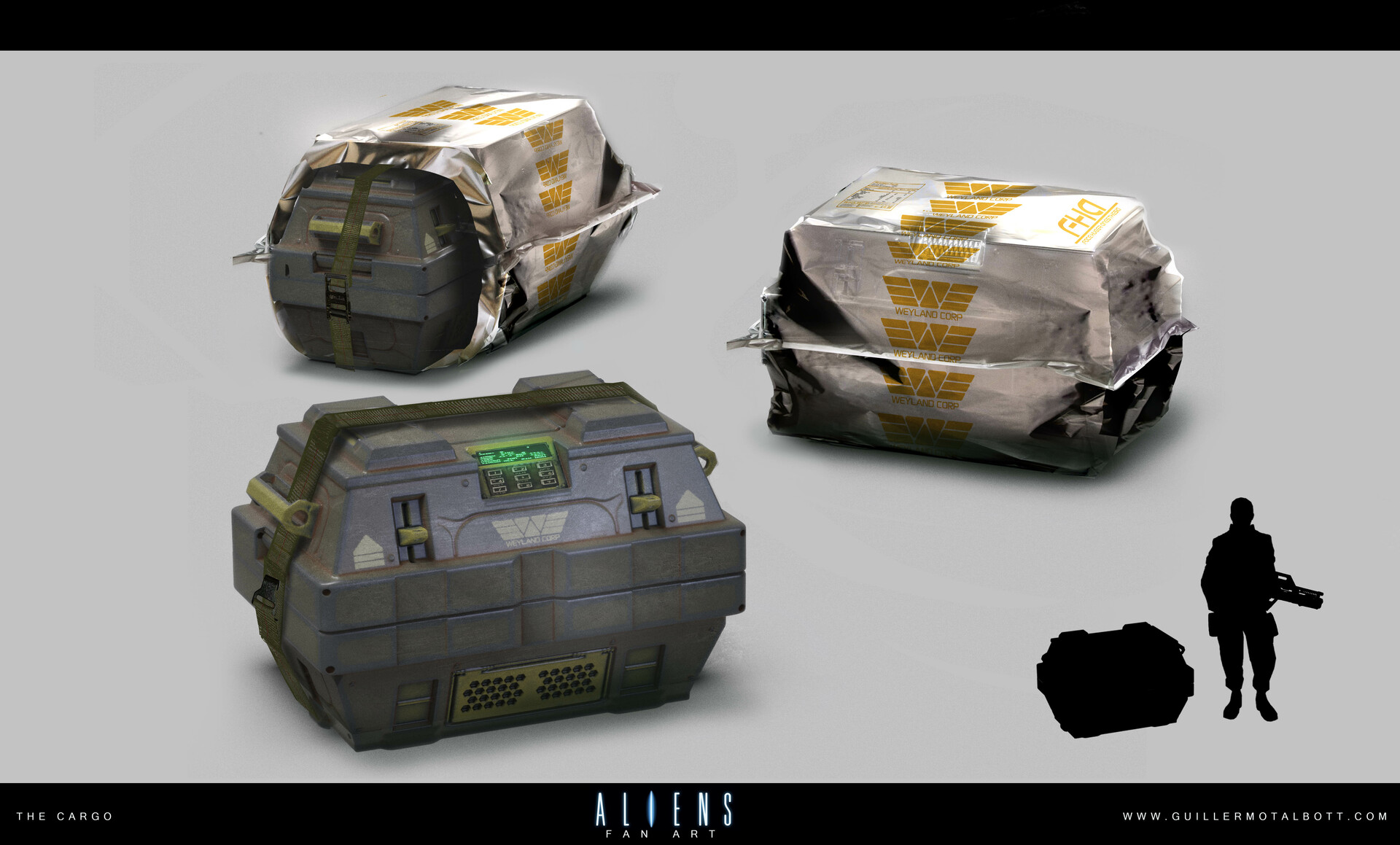 Guillermo talbott alien crate b