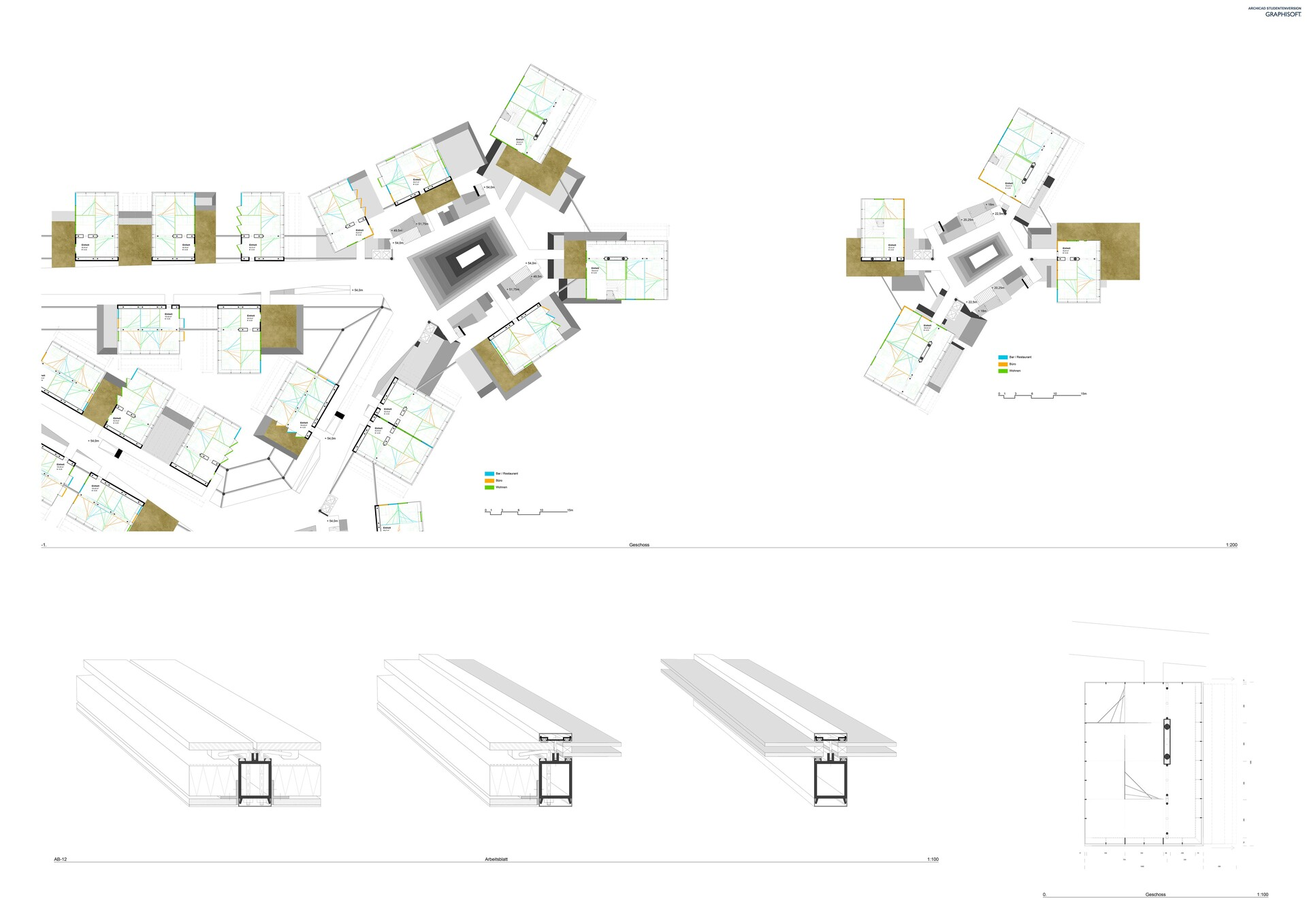 floor plans and beam construction