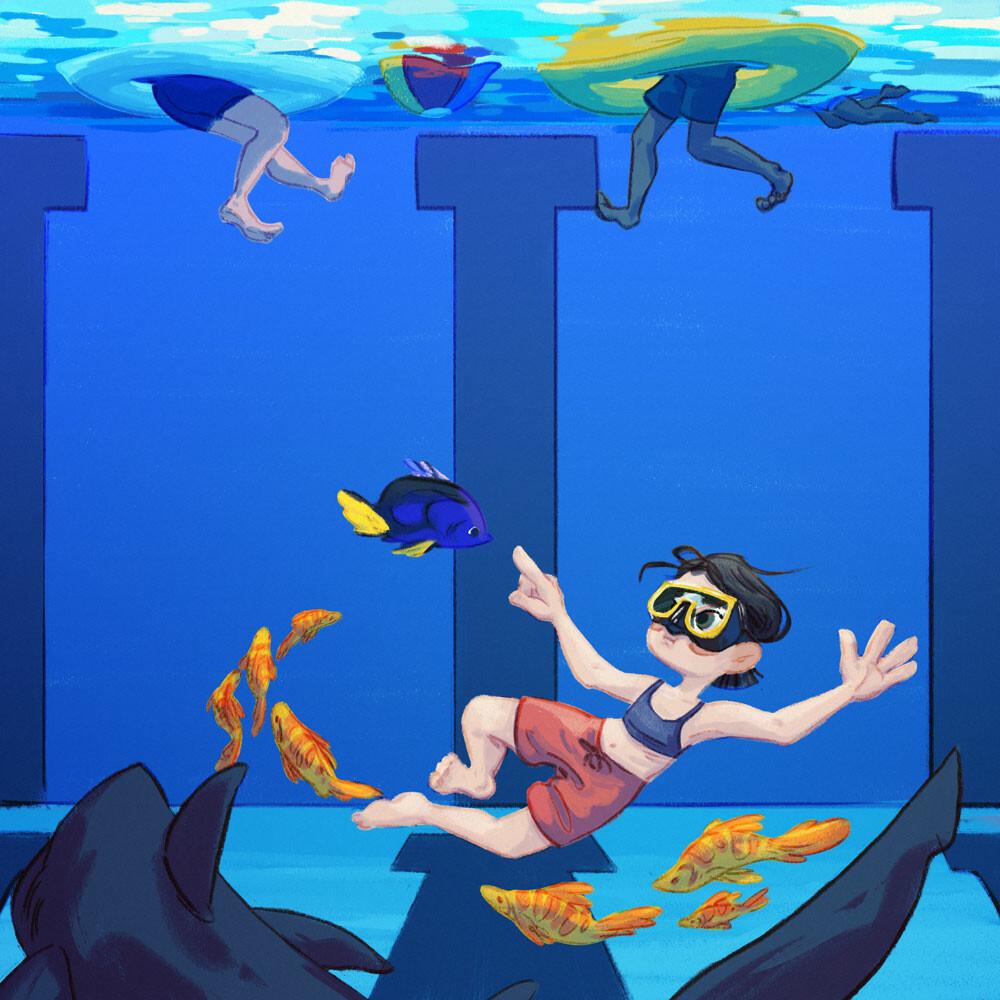 I wish I were a marine biologist