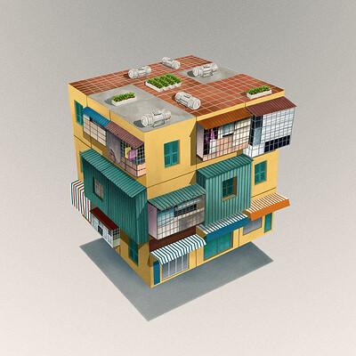 Raiso hoho cube 22