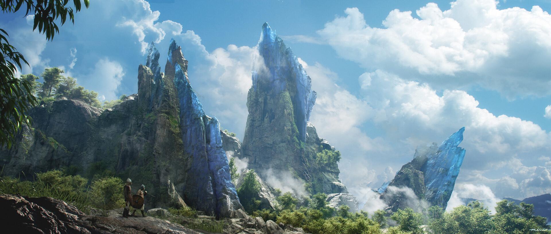 Pablo dominguez mountains