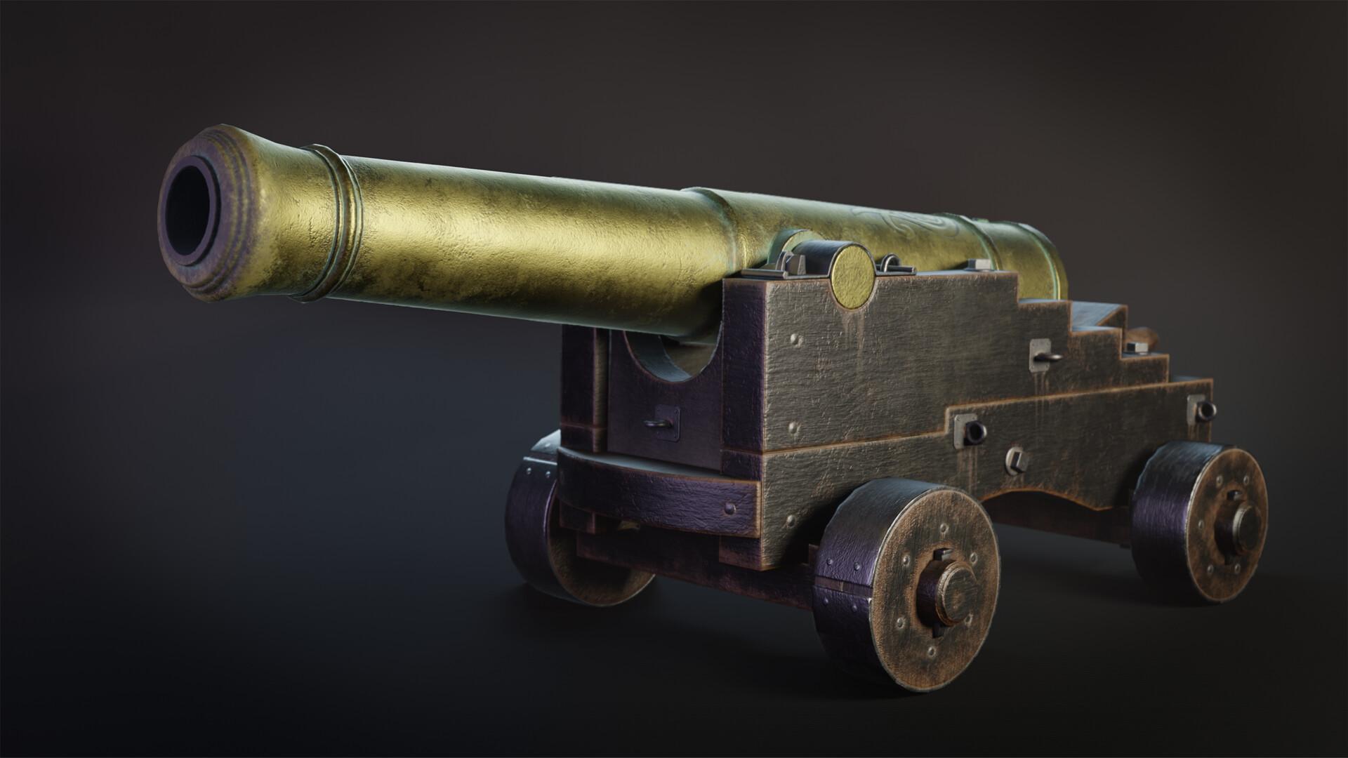 Pavel mazanik naval cannon render 00