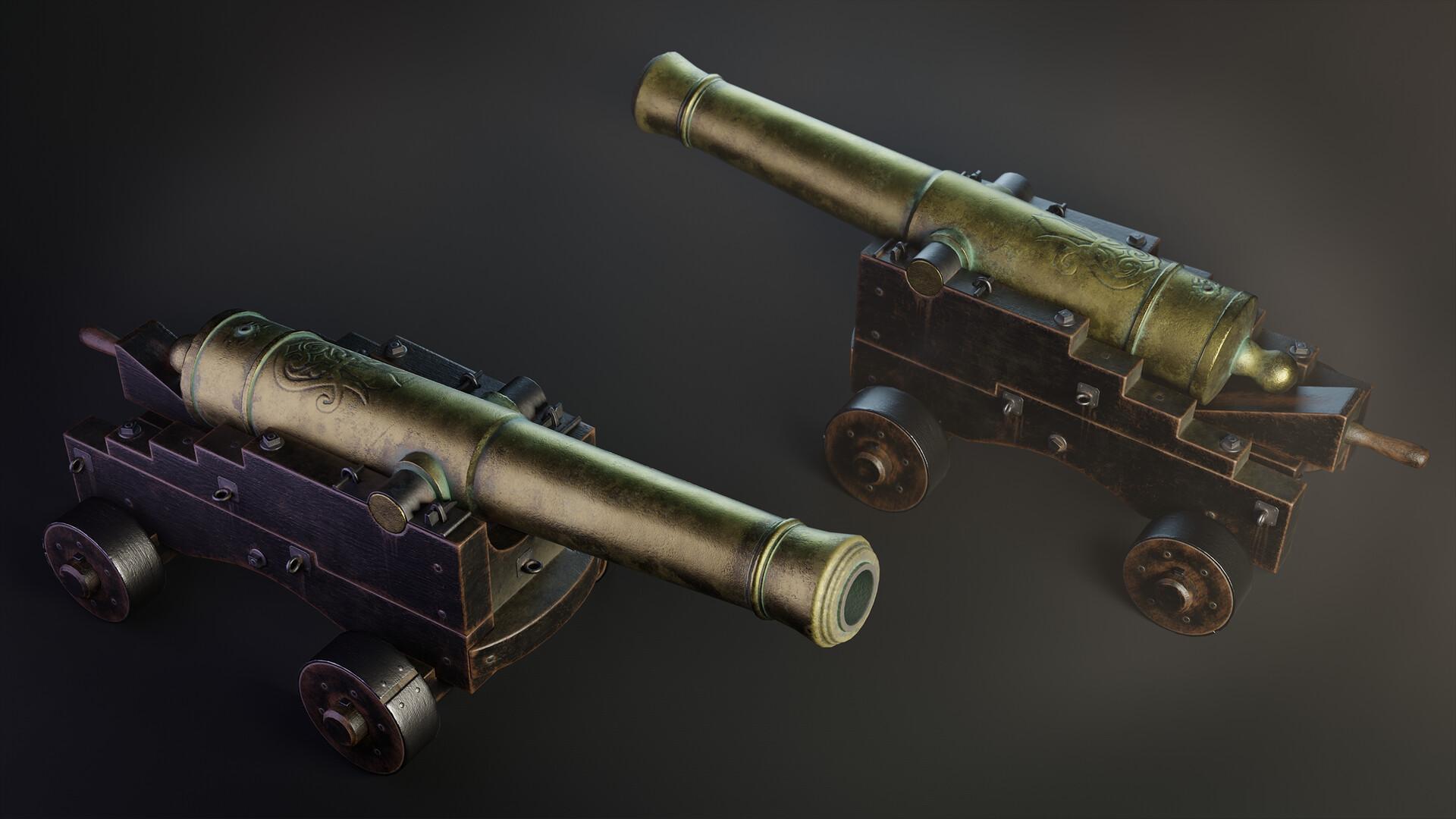 Pavel mazanik naval cannon render 03