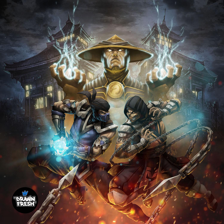 Artstation Mortal Kombat 11 Vinz El Tabanas