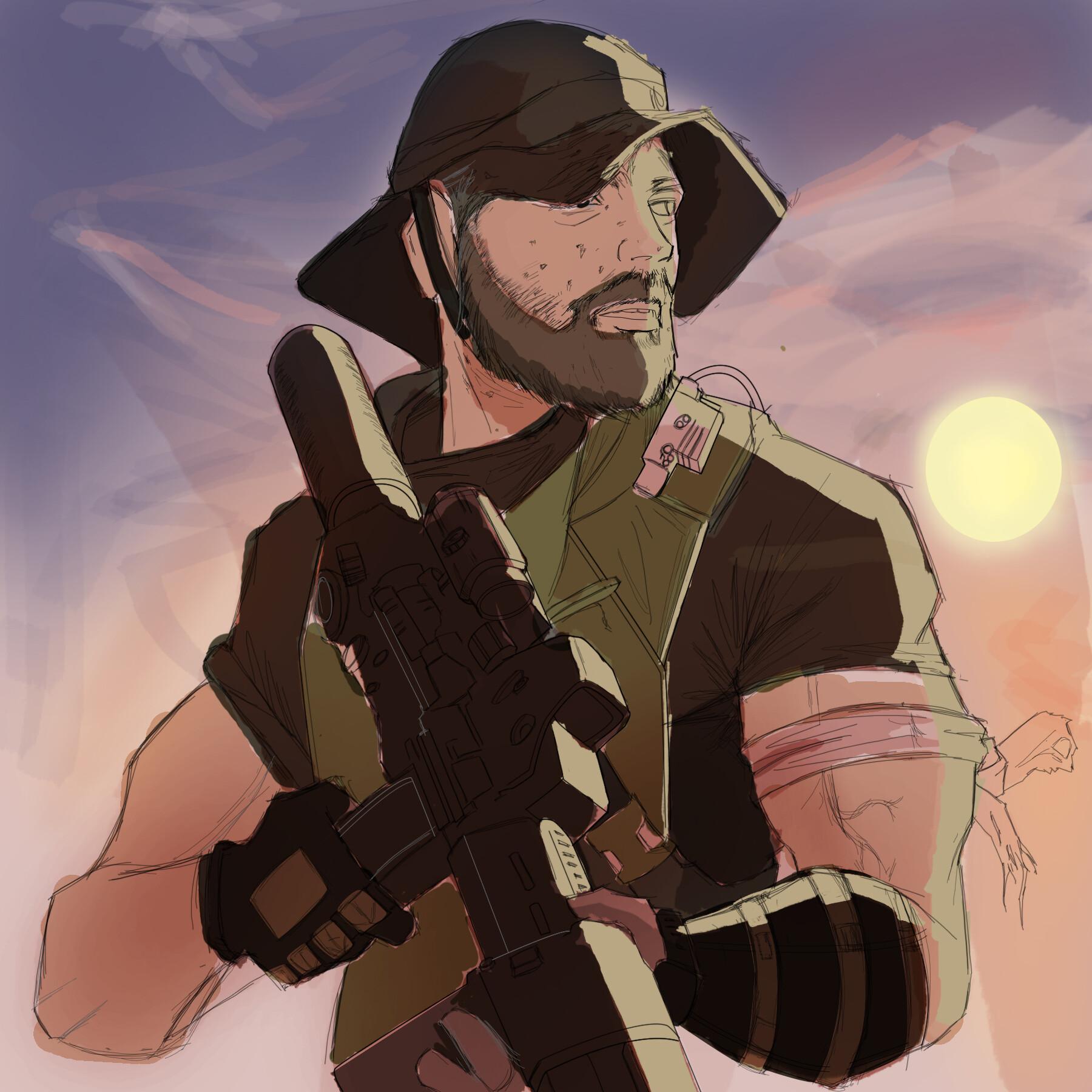 Artstation Call Of Duty Fan Art Dayo Lash