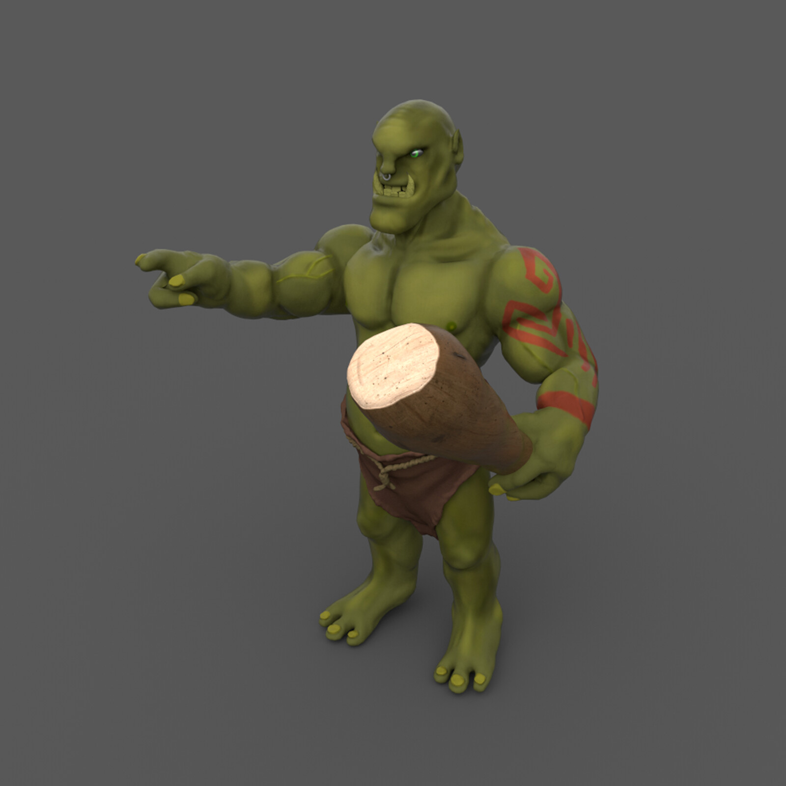 Game Character • Orc