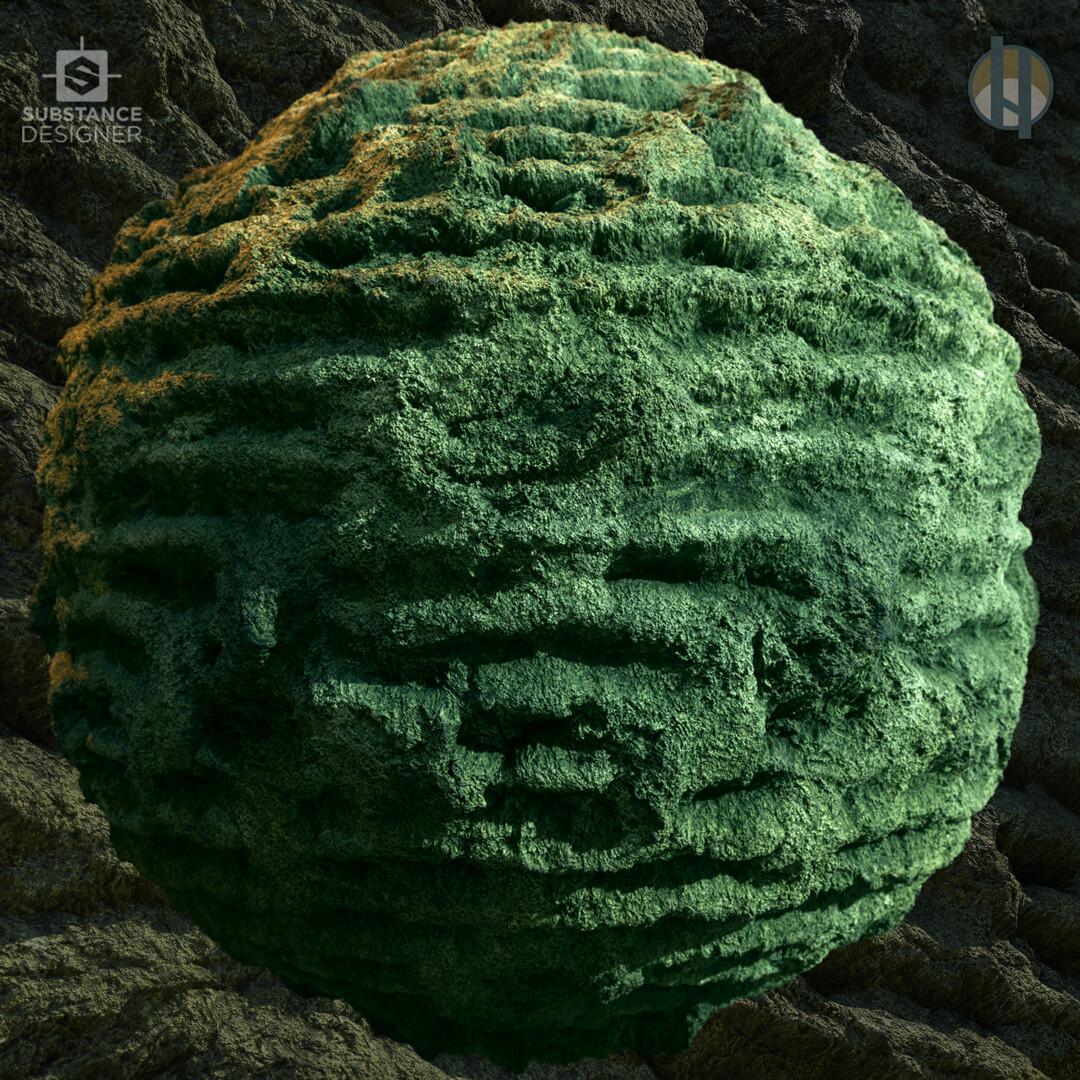 Justin hrala cave limestone layered