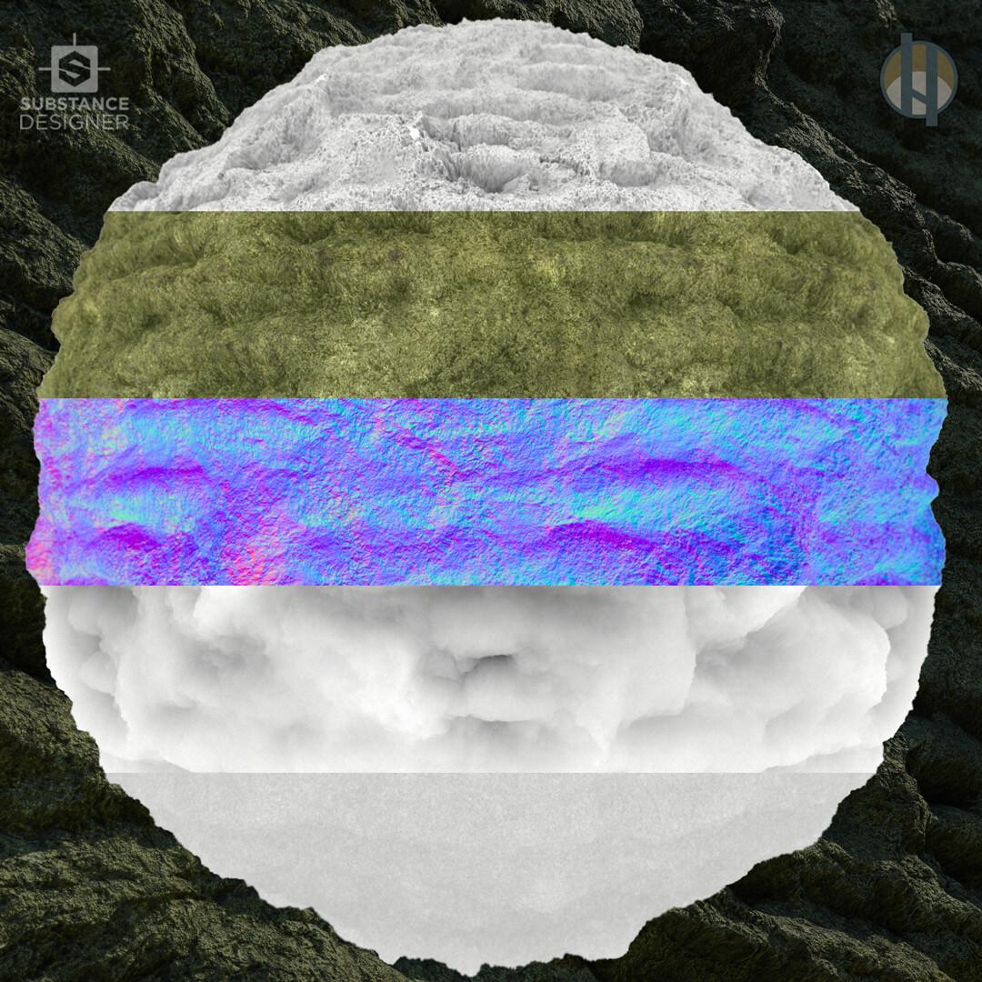 Justin hrala cave limestone layered layers