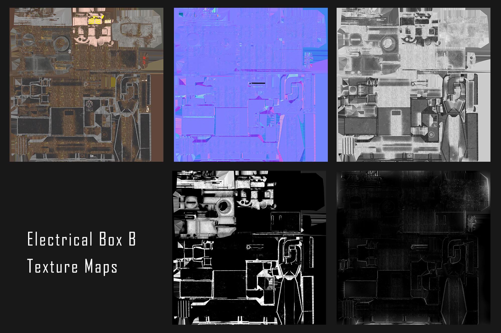 Electrical Box B | Texture Maps