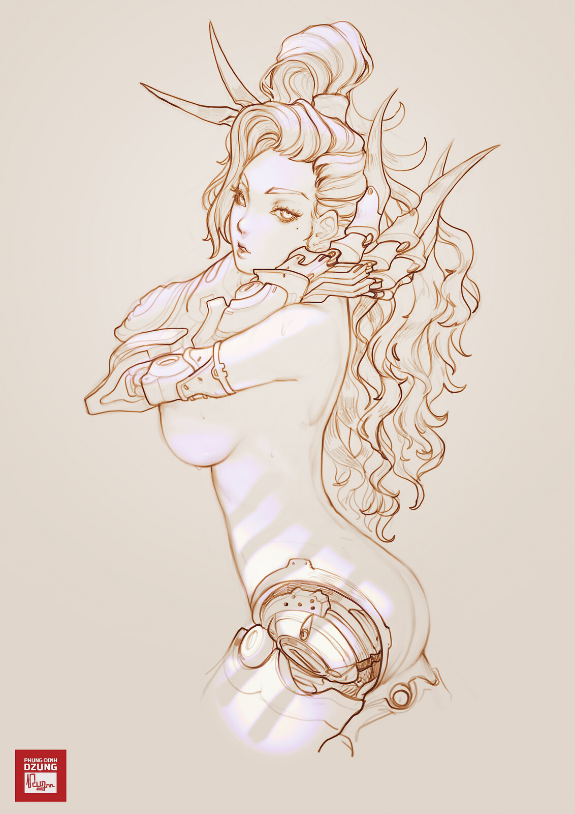 Bladilia sketch