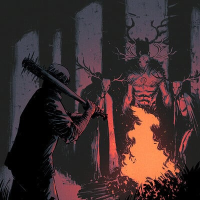Chris shehan wendigo wood 2 cover colors