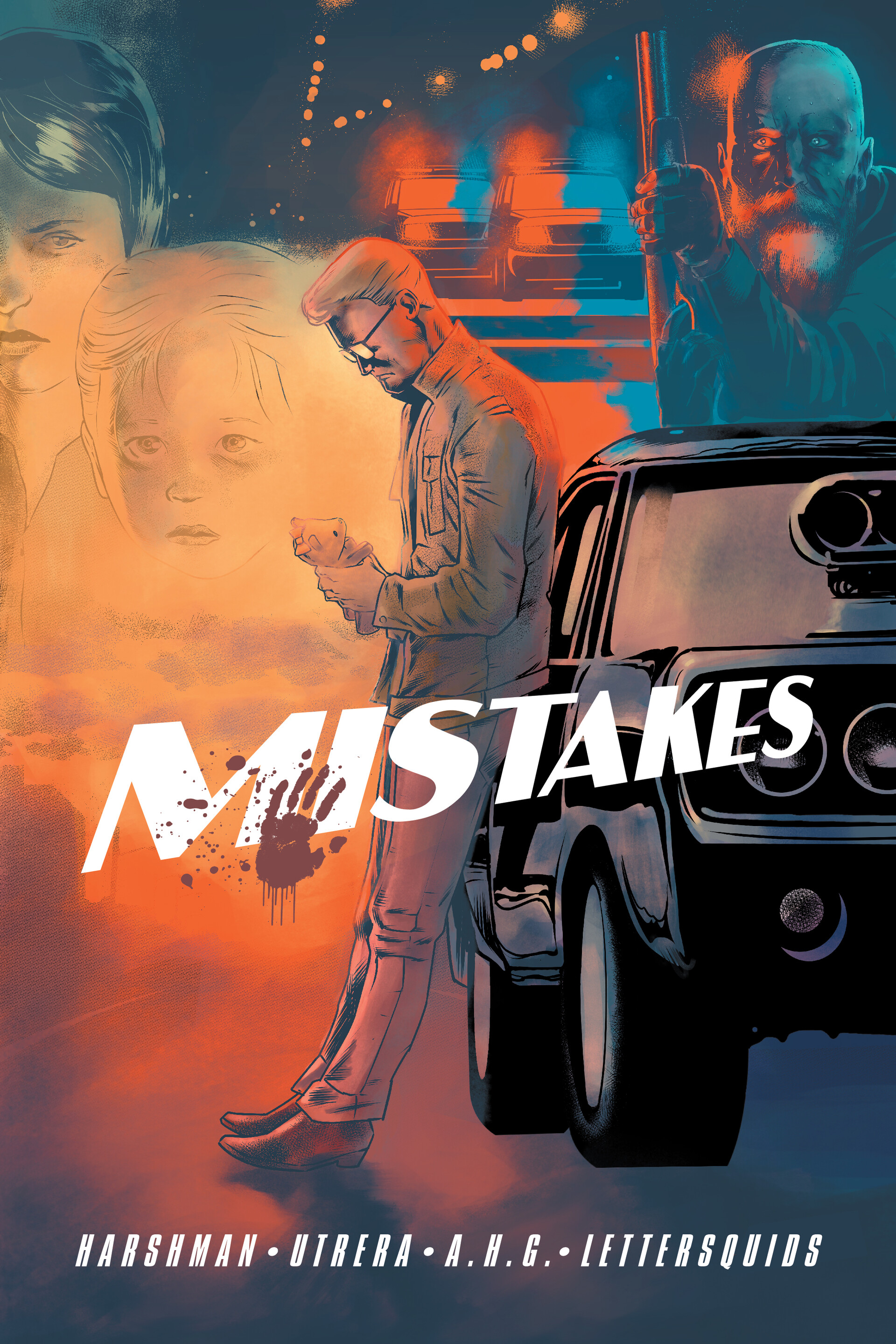 Justin lettersquids mistakes cover