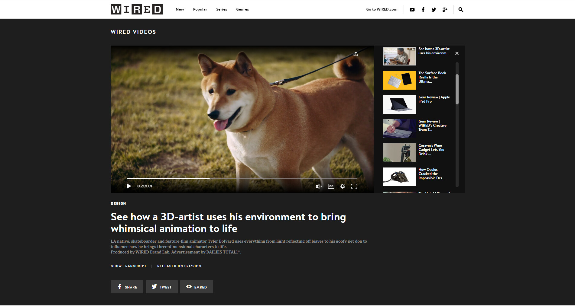 WIRED Web Feature