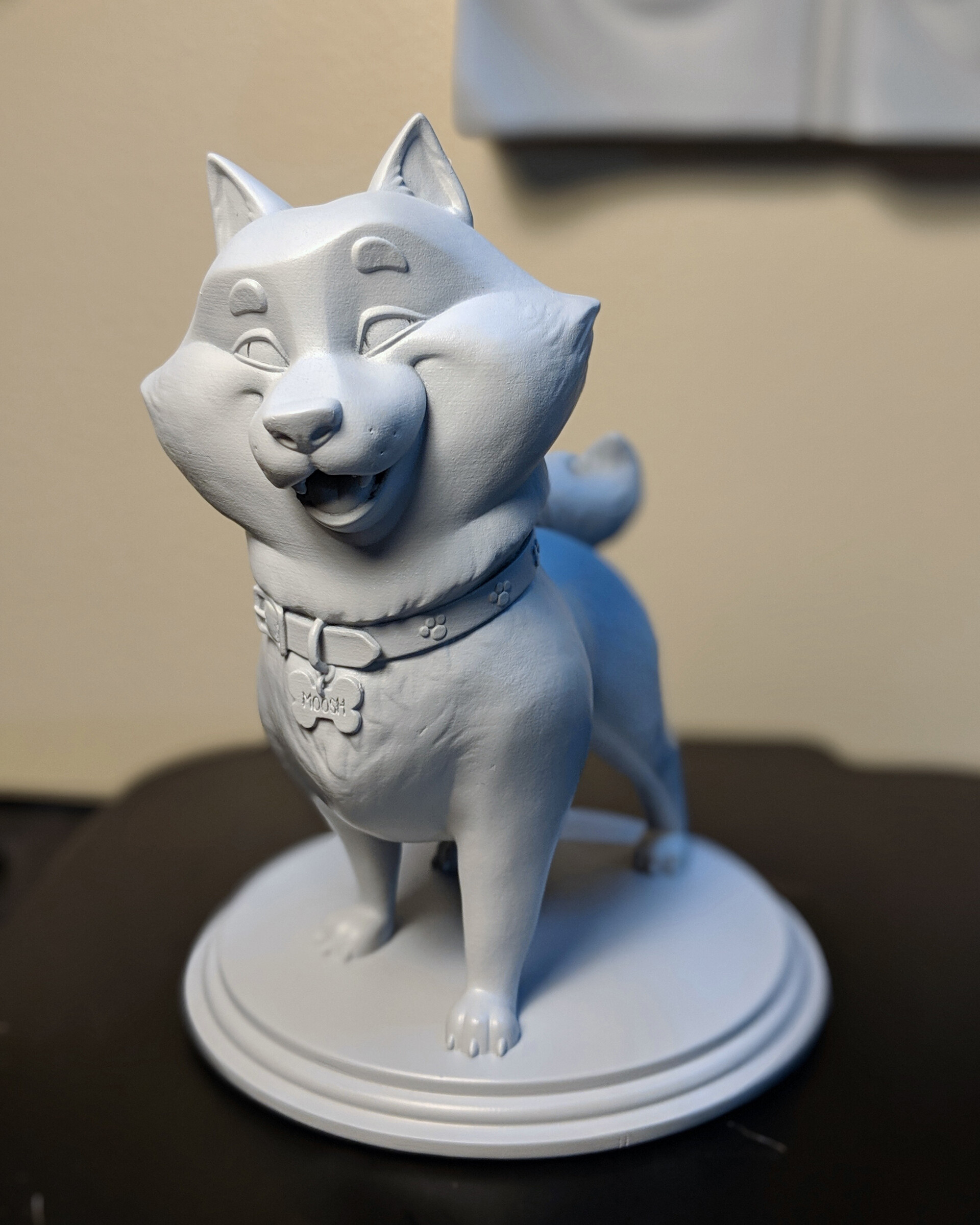 3D Printed Prototype Maquette