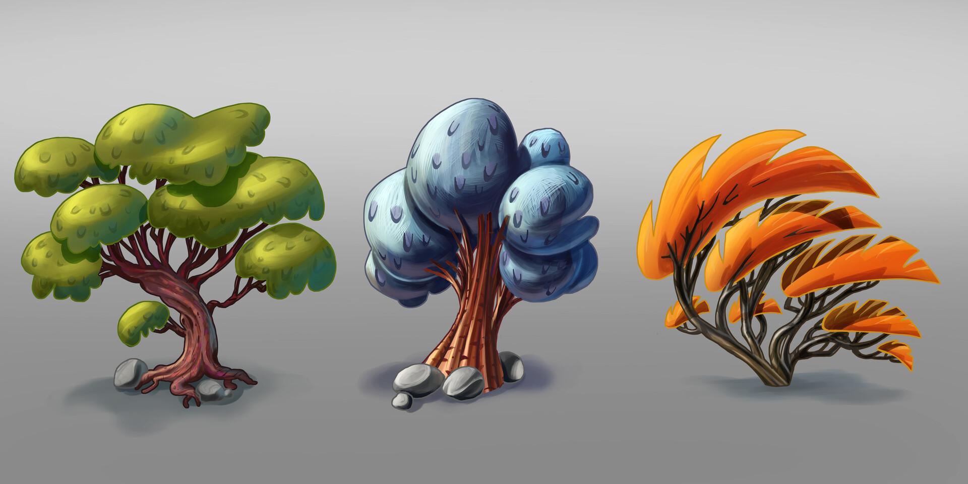 Trees final render