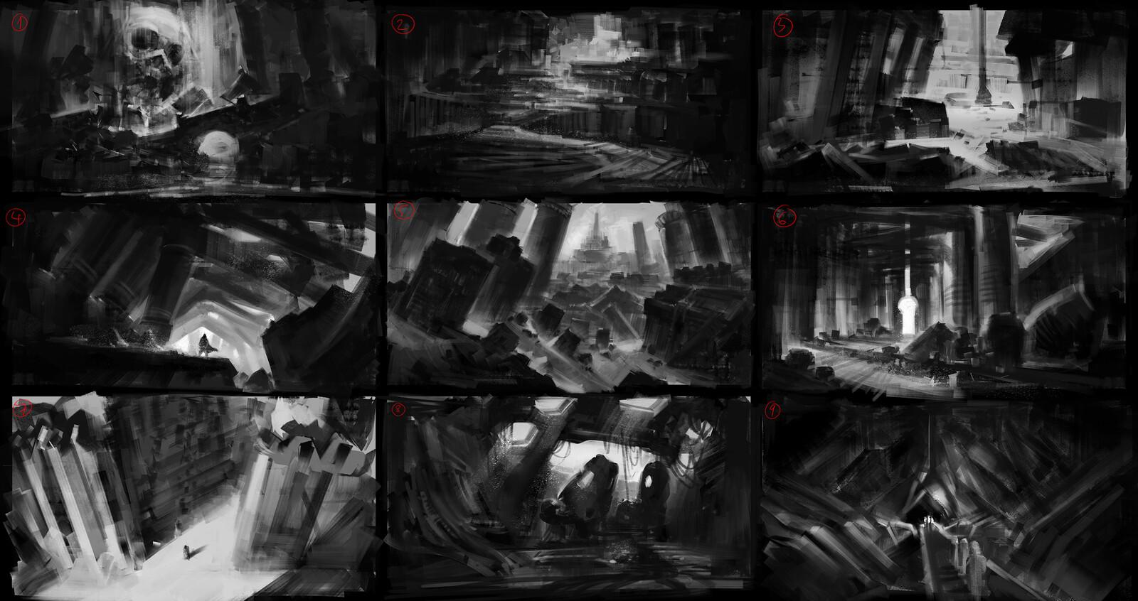 Environment sketch 3 2019