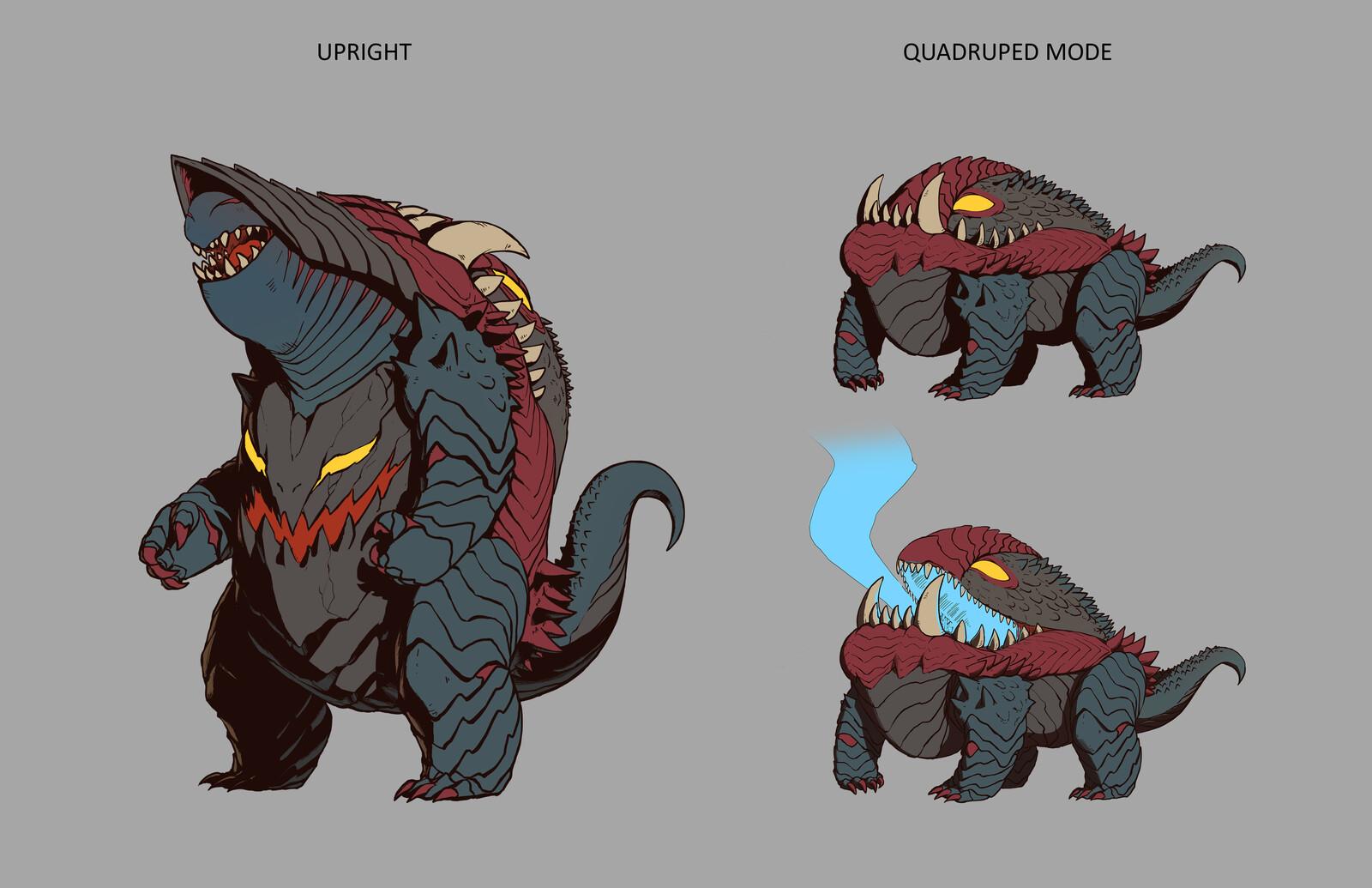 Kaiju: A Loose Interpretation of Azi Dahaka