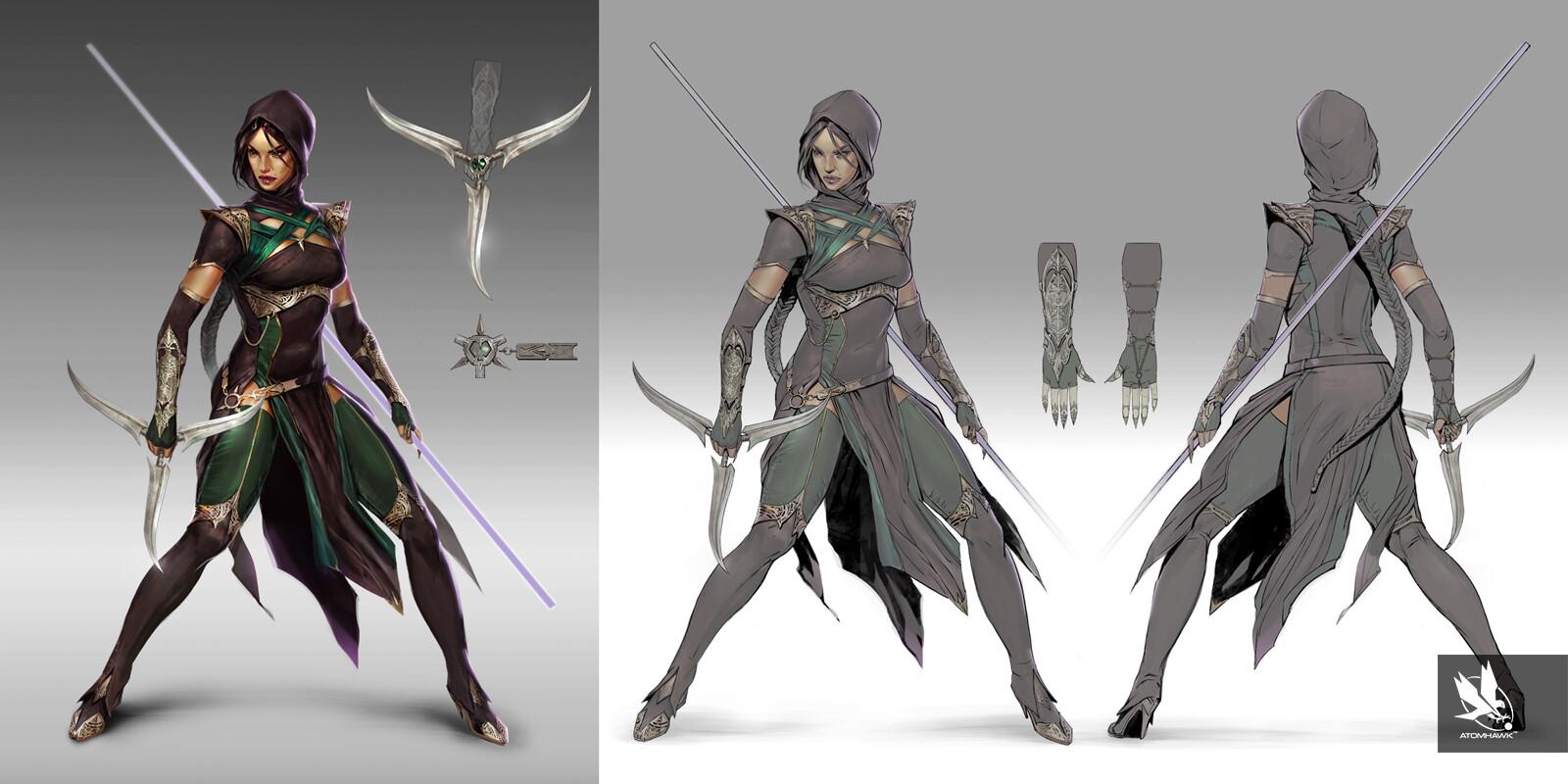 Artstation Mortal Kombat 11 Characters Atomhawk Design